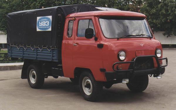 особенности кабины УАЗ-39095