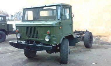 технические характеристики грузового автомобиля ГАЗ-66