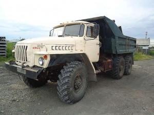 стоимость самосвала Урал-5557