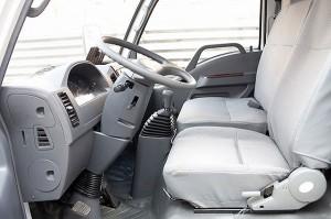 кабина грузового автомобиля BAW Tonik, ее преимущества
