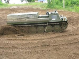 тест-драйв снегоболотохода ГАЗ-34039