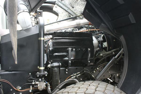 особенности опрокидывания кабины МАЗ-5551