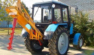 описание ямобуров на базе трактора МТЗ