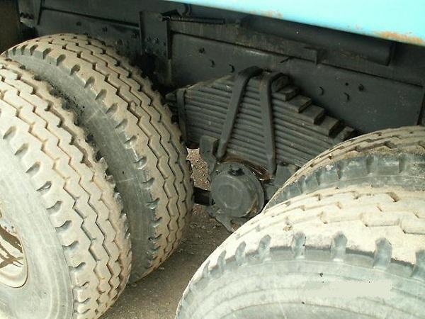 особенности задней подвески Урал-63685