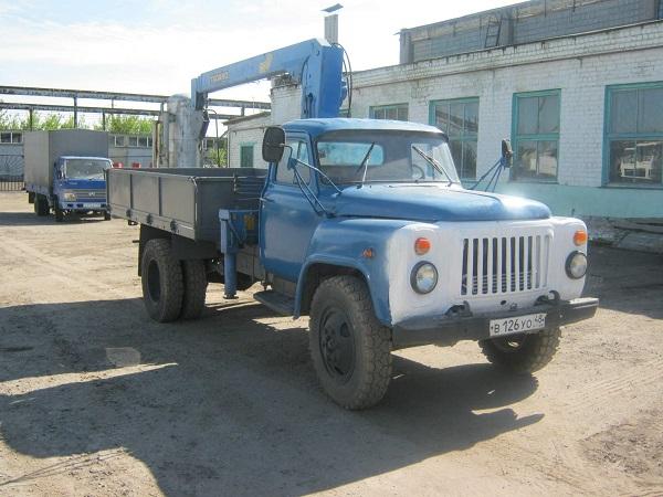 КМУ Тадано на базе грузового автомобиля ГАЗ-53
