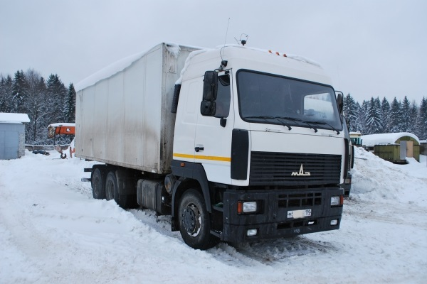 описание и технические характеристики автомобиля МАЗ-6312