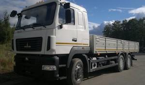 особенности оснащения бортового автомобиля МАЗ-6312