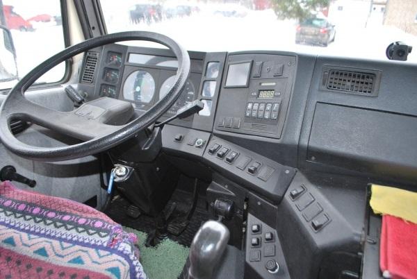 панель управления грузового автомобиля МАЗ-6312