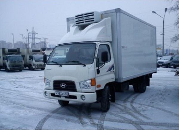 параметры грузовика Hyundai HD 78