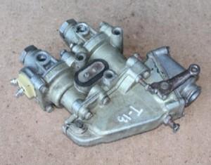 кран тормозной системы погрузчика к-701
