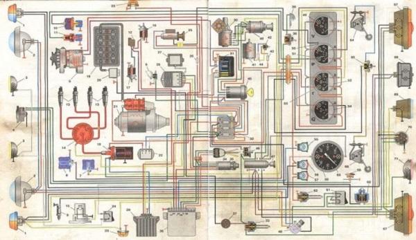 характеристики электросхемы УАЗ-31512