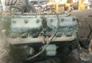 ЯМЗ-240, описание двигателя