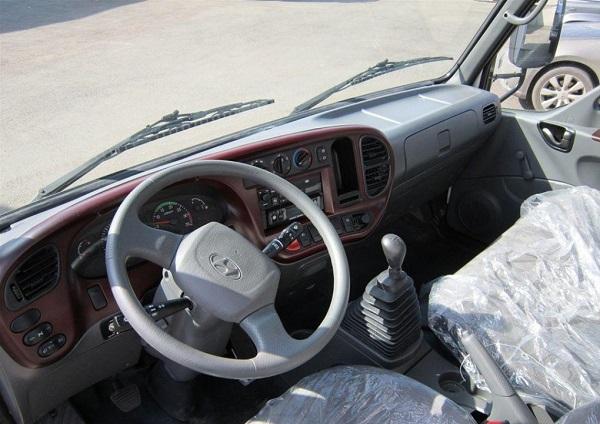 Основные характеристики кабины Hyundai HD 78
