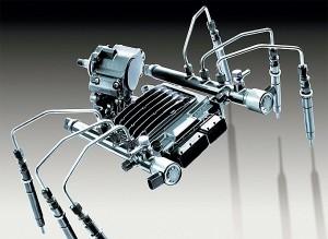 Установка на двигатель системы Common Rail