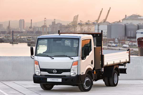 технические характеристики грузовика nissan cabstar