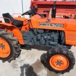 технические характеристики трактора кубота