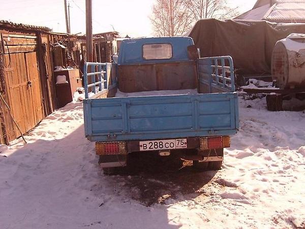 Описание кузова модели УАЗ -31512