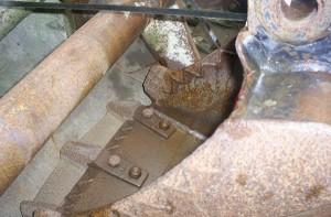 ковш мини-экскаватора JCB и его основные характеристики
