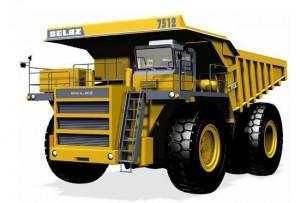 новая модель БелАЗ-7512
