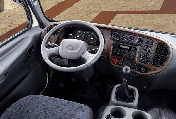 Основные удобства кабины Hyundai (Хендай) HD-120