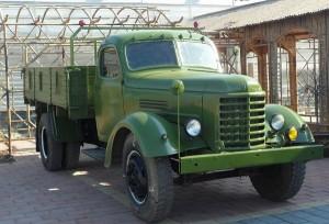 Применение грузовика КАЗ-150
