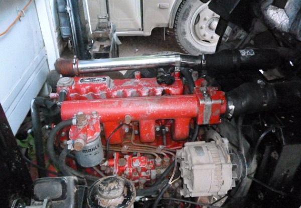 Основные параметры дизельного двигателя FAW CA 1051