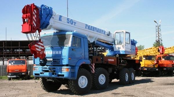 История происхождения автокрана галичанин 50 тонн