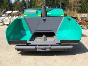 Основные характеристики бункера асфальтоукладчика Vogle Super 1900-2