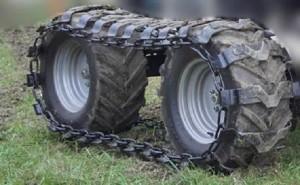 Поставка комплектов гусениц на задние колеса автокрана галичанин 50 тонн