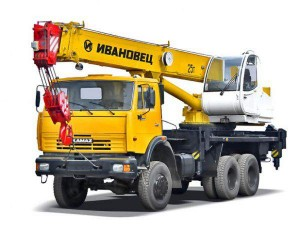"автокран ""Ивановец"" 25 тонн, модель 45717К-2"