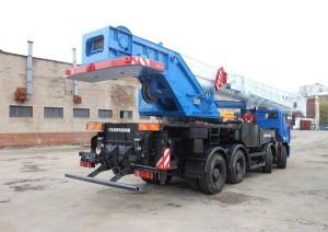 50-ти тонный автокран Галичанин, его цена