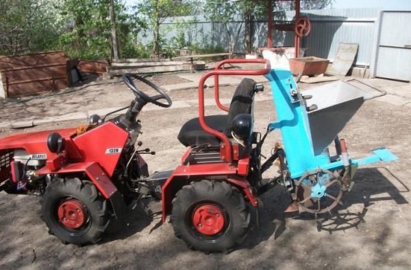 Навесное оборудование для модели мини-трактора «Беларус» 132Н