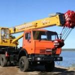 "описание автокрана ""Галичанин"" грузоподъемностью 25 тонн"