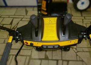 Обзор управления снегоуборщика Champion ST656BS
