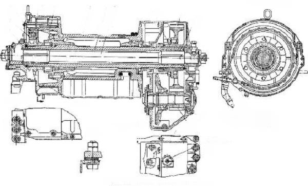 лебедка трелевочника ТДТ-75