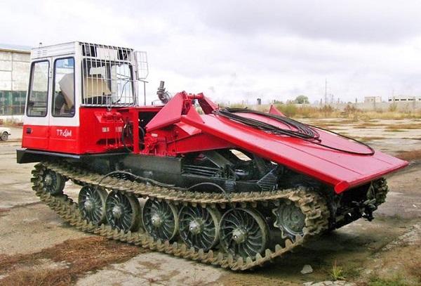 трелевочный трактор ТТ-4М, его особенности