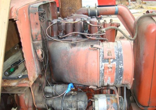 Основные параметры двигателя т-25