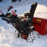 подробный обзор параметров снегоуборщика МТД МЕ 76