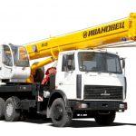 автокрана 25-ти тонные, модель Ивановец