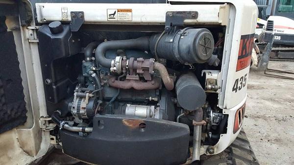 двигатель для bobcat 435, явные достоинства