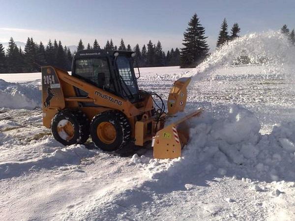 снегоочиститель для Мустанга 2054