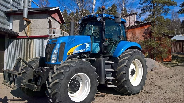 особенности трактора Нью Холланд Т8040