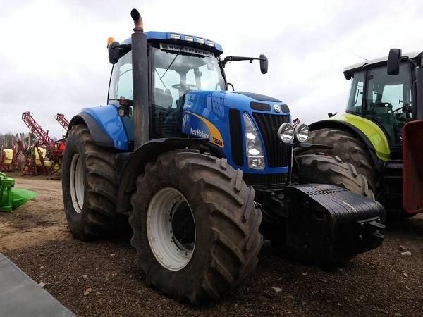 обзор трактора New Holland T8040, его характеристики