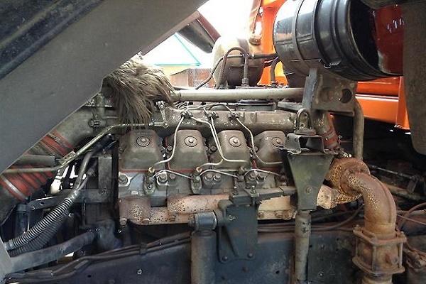 удобный доступ к двигателю КамАЗ 45143