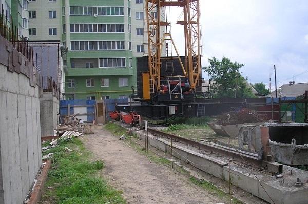 платформа башенного крана