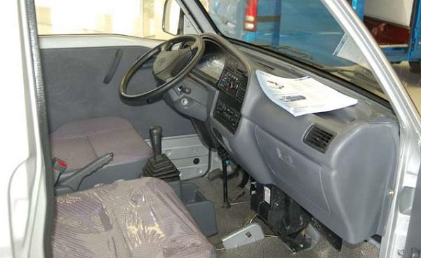 устройство кабины FAW-1010