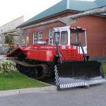 трелевочный трактор ТТ-4, созданный на базе ТДТ-75