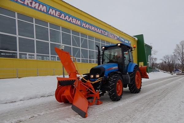 какая техника АГРОМАШ позволяет справиться со снежными заносами