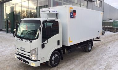 обзор характеристик изотермического фургона Isuzu Elf 3.5 long (NMR85H)