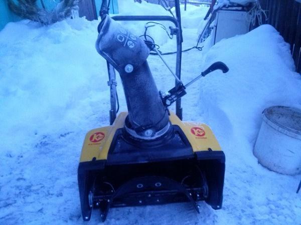 сколько стоит снегоуборщик и запчасти к нему, например шестерня редуктора